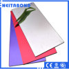Aluminum Composite Panels of Red Alucobonds PE PVDF Coating ACP