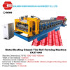 Corrugated Glazed Tile Metal Roof Panel Roll Forming Machine