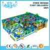 2019 New Design Plastic Kids Indoor Playground with The Theme Ocean, Indoor Playground Fun for Kids