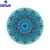 Manufacturer Yoga Factory Wholesale Customized Eco Friendly Anti-Fatigue Round Yoga Mat