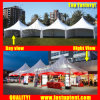 Made in China Aluminum Frame Pinnacle Tent for Outdoor Marriage 3X6m 3m X 6m 3 by 6 6X3 6m X 3m 20 People Seater Guest
