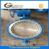 API609 Metal Seat Triple Eccentric Double Flange Butterfly Valve