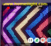 P18 3 X 4m RGB LED Video Curtain for DJ Booth Backdrop