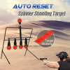 Auto Reset Spinner Shooting Target Metal Plinking Spinning Hunting Air Gun Rifle