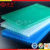 Frosted Grass Green PC Hollow Sheet Polycarbonate Roofing Sheet Solar Panel