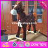 2017 Wholesale Horse Sound Wooden Rocking Horse for 1 Year Old, New Design Wooden Rocking Horse for 1 Year Old W16D094