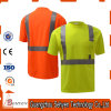 High Grade Anti-Static Safety Reflective High Visibility Tshirt of Cotton