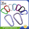 Colorful D-Shaped Aluminum Clip Carabiner