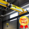 Wireless Radio Remote Control Roof Traveling European Type 5t 10t Single Girder Overhead Crane