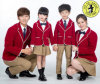 Custom Spring and Autumn School Uniforms Kindergarten Uniforms Design Logo