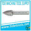 DIN8032 Carbide Burrs with Three Pointed End