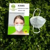 Wholesale Face Shleld Facemask Professional Personal Protection Breathable White KN95 Mask 4 Plyffp2 Mask