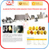 Puffed Corn Core Filling Snacks Food Extruder Machine