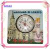 Ceramic Embossed Clock for Tourist Souvenir Crafts