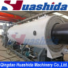 Vacuum Calibrating PU Pre-Insulated HDPE Casing Shell Jacket Pipe Extrusion Line