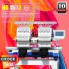 Holiauma 2 Double Head Dahao Computer Embroidery Machine for Home and Industry Use in Second Hand Price