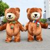 Giant Lovely Inflatable Plush Bear Custume