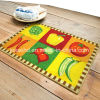 Durable Polyester Loop Pile Surface Latex Backing Door Mat