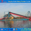 China Professional Chain Bucket Gold Mining Dredger