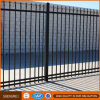 Black Galvanized Steel Pipe Fence Decorative Picket Fence