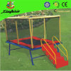 Mini Square Trampoline with Ladder (LG054)