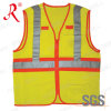 High Visibility Workwear Reflective Safety Vest (QF-547)