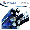Insulated Aluminum Conductor Twisted Aerial 11kv Cable ABC