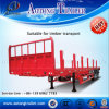 Tri-Axle Lowbed Semi Trailer for Cargo Transport