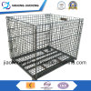 Industrial Stackable Foldable Storage Metal Wire Mesh Cage