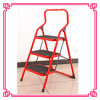 Steel Step Ladder with Round Tube/3 Step Ladder