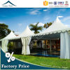 with VIP Wooden Floor 6m*6m New Garden Permanent Wedding Pagoda Tent