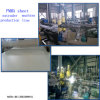 Plastic ABS PMMA Sheet Machine Extrusion