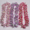 Customized Polyester Party Hawaii Flower Lei for Promotion Gift