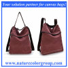 Functional Three-Way Handbag Messenger Bag Backpack for Ladies