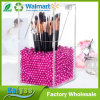 Premium Quality Brush Holder Acrylic Makeup Organizer with Free Rosy Pearls 5mm