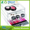 Wholesale Custom 3 Tiers Acrylic Drawer Storage Blush Organizer