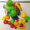 Family Decoration Good Looking Plastic Fruit and Vegetable Display Toy