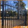 Black Powder Coating Spear Top Aluminum Tubular Fence