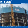 Build-in Safe Self Climbing Scaffold Platform for High Rise Building