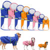 Dog Raincoat for Small Large Dogs Clothes Pet Yellow Rain Coat Slicker Warm Waterproof Overalls Hooded Reflective Pets Clothing