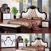Home Furniture with King Bed and Wardrobe (3363)
