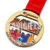 Good Quality Enamel Sport Marathon Running Racing Medal Display Finisher of Honor