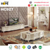 Antique Style Wood Furniture Marble Coffee Table Tea Table (HC999)