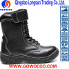 Embossed Leather PU Sole Safety Work Boots (GWPU-GB078)