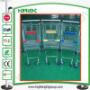 Four Casters Carring Shopping Supermarket Metal Trolley
