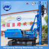 Solar Power Station C Shape Piles Mounted Crawler Type Guardrail Pile Driver
