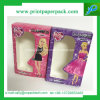 Cartoon Series Pink Rigid Cardboard Perfume Cosmetic Packing Box