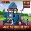 New Theme Blue Robot Machine Plastic Outdoor Playground (X1439-5)