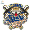 Supply Factory Zamac Casting Custom Tiger Sports Brooch Pin with Clutch