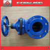 OEM Casting Iron and Precision Machining Rubber Wedge Flanged Gate Valve